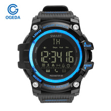 Smart Watch Men Digital Watch Male Sport Electronic Intelligent Smart Wrist Watch Waterproof Sport Digital Smart Watch Pedometer