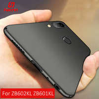 ZB602KL funda para Asus Zenfone Max Pro M1 funda protectora trasera mate suave cubierta para Zenfone Max Pro m1 ZB601KL