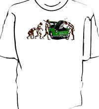 Morris Minor Evolution of Man breakdown t-shirt New T Shirts Funny Tops Tee Unisex