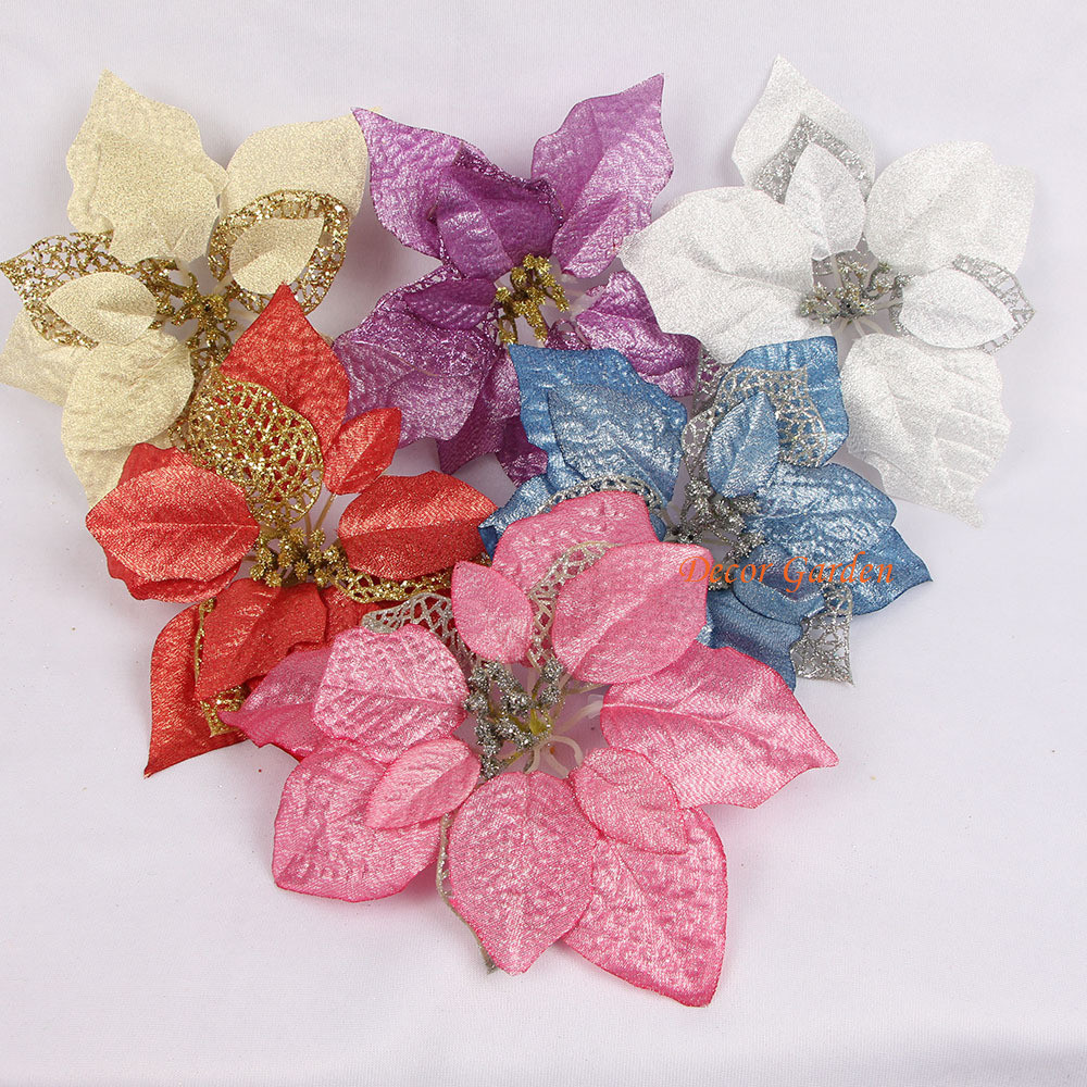 22cm 866 Inches Artificial Flowers Silk Flowers Christmas