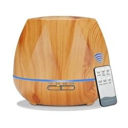 500Ml pilot rozpylacz zapachów ultradźwiękowy nawilżacz powietrza cool mist oczyszczacz powietrza 7 led zmieniające kolor noc światło dla Office Home|Nawilżacze powietrza|AGD -