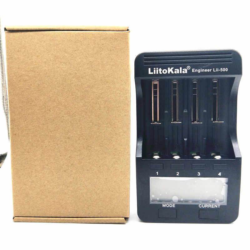Liitokala Lii-202 lii-402 18650 зарядное устройство 1.2 В 3.7 В 3.2 В 3.85 В AA/AAA 26650 10440 14500 16340 18350 Smart Зарядное устройство