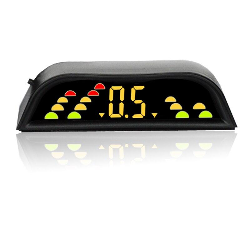 imágenes para 4/NY109 sensores Car Kit Display LCD Sensor de Aparcamiento para todos los coches de ayuda al aparcamiento radar de marcha atrás
