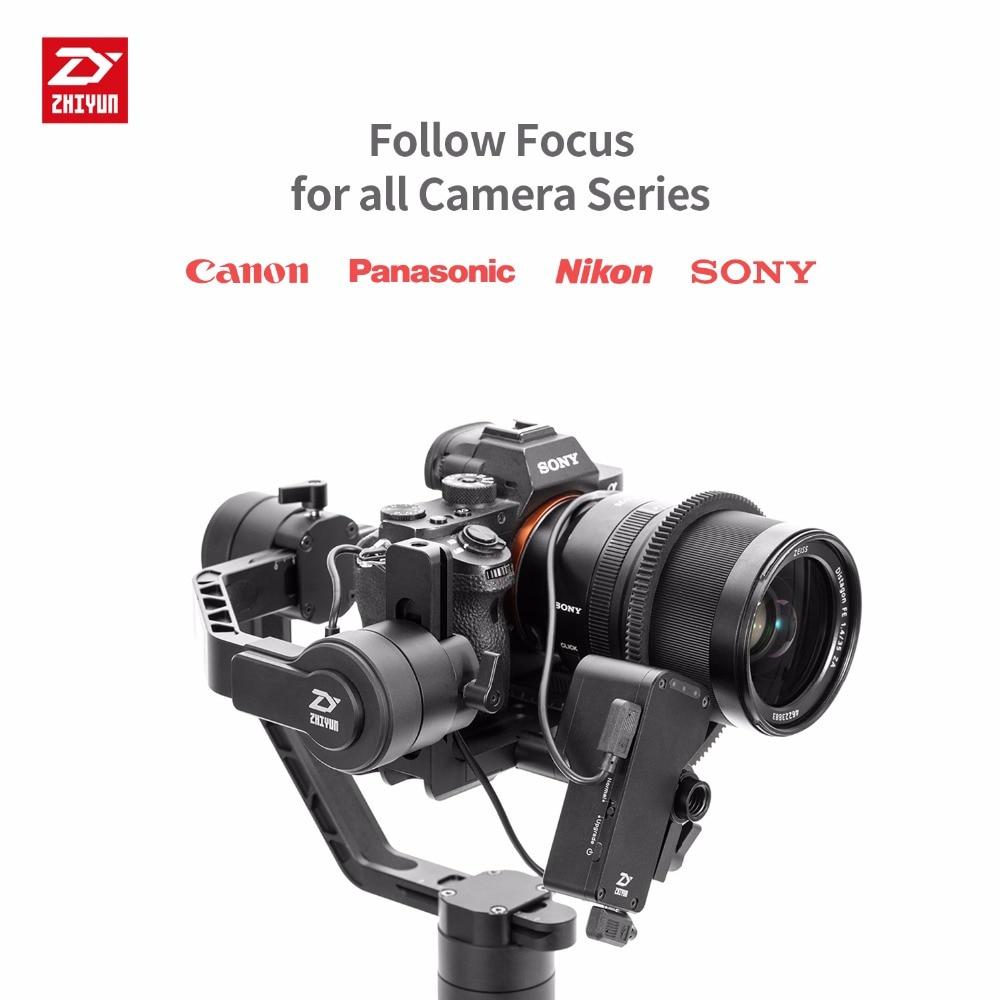 ZHIYUN Official Crane 2 Servo Follow Focus for All Canon Nikon Sony Panasonic DSLR Camera With Zhiyun Handeld Gimbal 1
