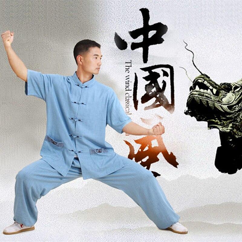 Тай-чи подходит парень девушка embroid ушу кунг-фу производительность носить плюс размер белья летнее утро костюм Тайцзицюань показать одежду