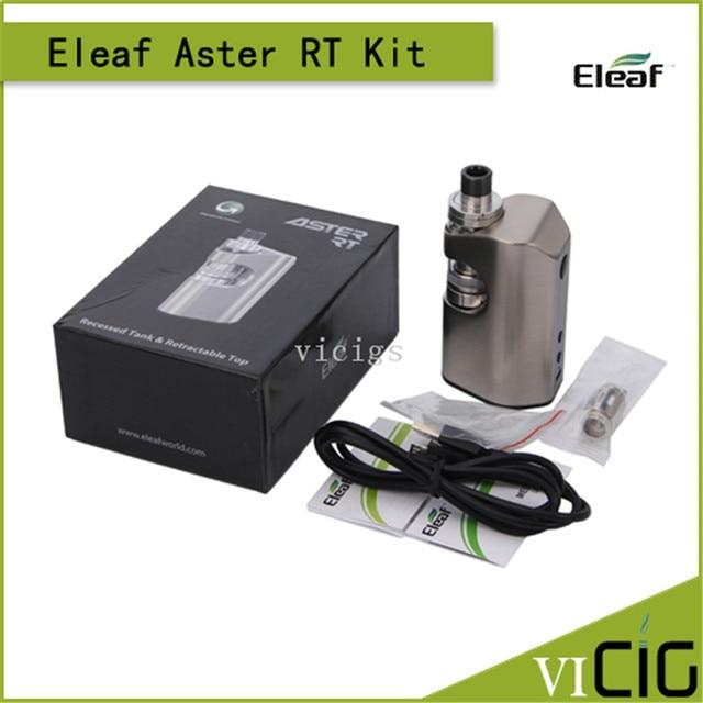 100% original eleaf kit rt aster 100 w 4400 mah bateria e 3.8 ml melo rt rt 22 tanque aster starter kit
