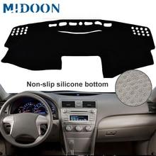 MIDOON для Toyota Camry доска крышка коврик ковер 2007 2008 2009 2010 2011 приборной панели автомобиля крышка коврик с рельефом приборная панель dashmat
