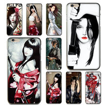 MaiYaCa Japan Samurai Mädchen Luxus Hybrid telefon fall für iPhone 8 7 6 6S Plus X XS XR XSMax 5 5S SE Coque Shell Fall(China)