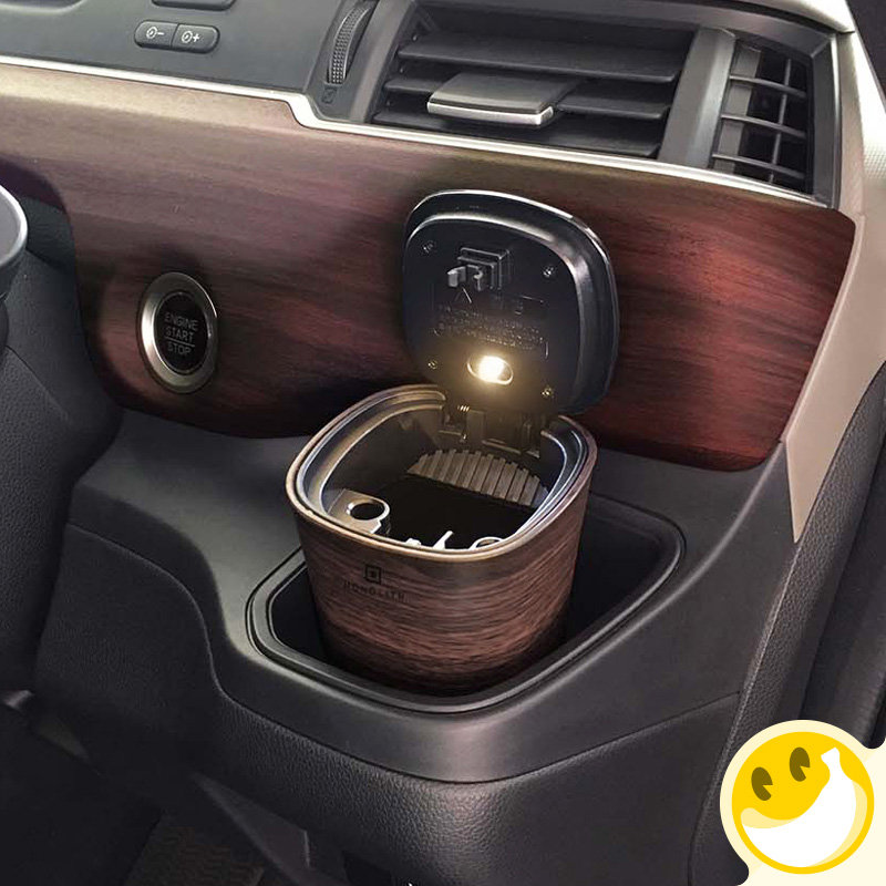 Portable Car Ashtray Car Interiors Frame Set Dolly Travel Cigarette Ash Holder cool Ashtray Litter Collecting