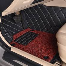 Myfmat custom foot leather car floor mats special for Range Rover sport Evoque Velar LR2 free shipping easy cleaning new styles