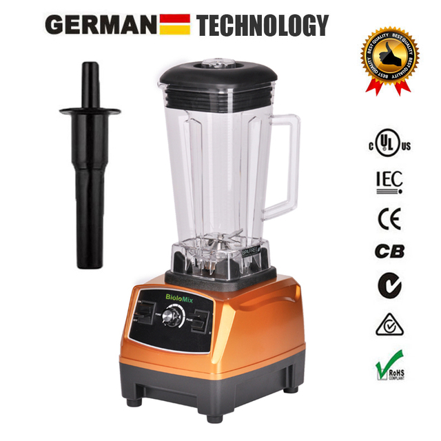 RU ONLY 3HP 2200W BPA Free 2L Top Quality Commercial Grade Blender Mixer Juicer High Power Food Processor Ice Smoothie Bar Fruit 1