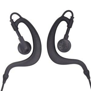 Image 3 - Mic Earpiece Walkie Talkie Headset For Motorla 1 pin Radio T3 T6 MT200 XTL446 SX500