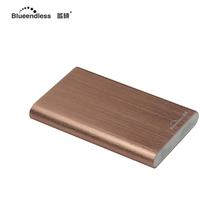 2TB/1TB/750G/500G/320G Exterior HDD Mechanical State Drive with 2.5 inch Aluminum sata laborious driver enclosure & USB3.zero cable