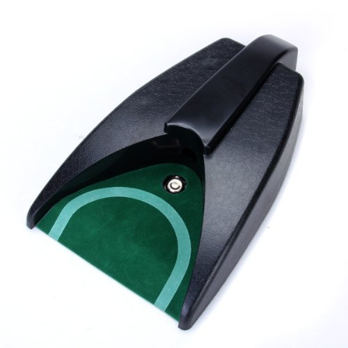 SZ-LGFM-Battery-Operated Auto Return Putting Mat Golf Practice Cup