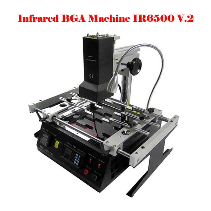 No tax to Russia! Infrared BGA Rework Station LY IR6500 V.2 bigger preheat area 240*200mm puhui t870a infrared weld machine bga rework station for motherboard repairing free tax to russia