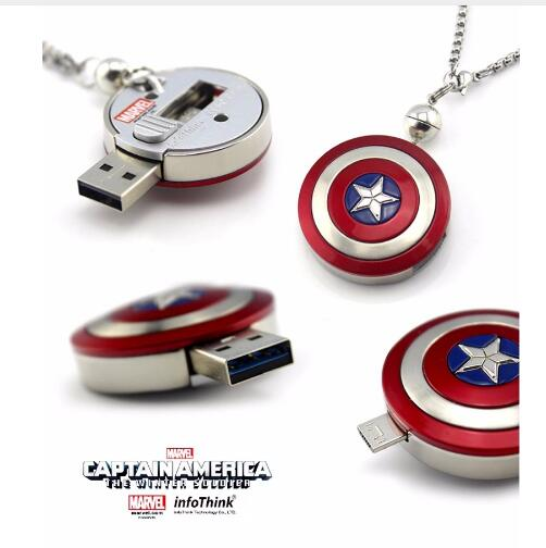 Image 3 - Hot!The Avengers pen drive Captain America flash card Iron Man usb stick The Hulk Thor 8G 16G 32G 64G 128G USB2.0 usb flash gift-in USB Flash Drives from Computer & Office