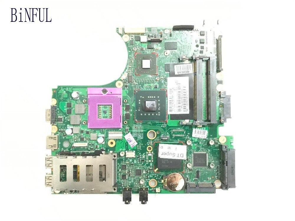 BiNFUL 100% WOKRING 574508 001 ddr2 送料無料ラップトップ MOTHEBOARD HP 4510 S 4710 S 4411 S ノートブック  グループ上の パソコン & オフィス からの マザーボード の中 1