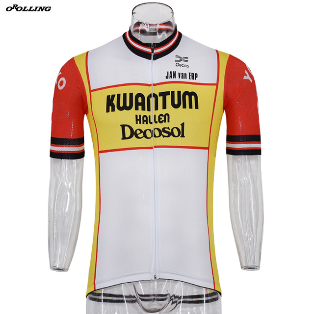 Classical Maillot New Retro Team Pro Cycling Jersey Customized Road  Mountain Race Top OROLLING a171e09cb