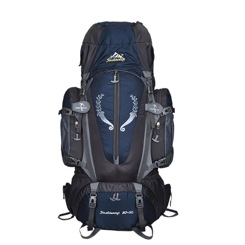 Outdoor Great 85L Backpack Exterior Travel Multi purpose Climbing Backpacks Trekking Great Capacity Backpacks Camping Sports