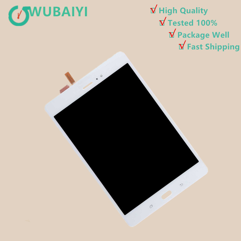 For Samsung Galaxy Tab A SM-P350 P350 SM-P355 P355 LCD Display Matrix with Touch Screen Digitizer Full Assembly new 8 for samsung galaxy tab a p350 lcd display with touch screen digitizer sensors full assembly panel lcd combo replacement
