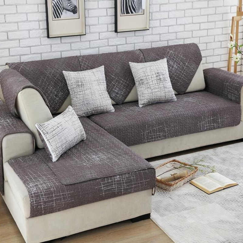 100 Cotton Sofa Cover Set Sectional