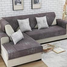100% baumwolle Sofabezug Gesetzt Schnitts Belegabdeckung Sofas Moderne Magische Sofa-abdeckung Ecke Handtuch Stoff Doppel Handtuch Sofa 90*90 Handtuch