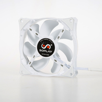SOPLAY CPU Cooler 4 Heatpipes 4pin 12cm Fan Aluminum Heatsink For LGA 1150 1155 1156 FM2
