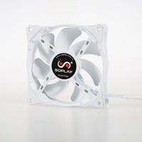 SOPLAY CPU Cooler 4 Heatpipes 4pin 12cm Fan Aluminum Heatsink For LGA 1150 1155 1156 FM2