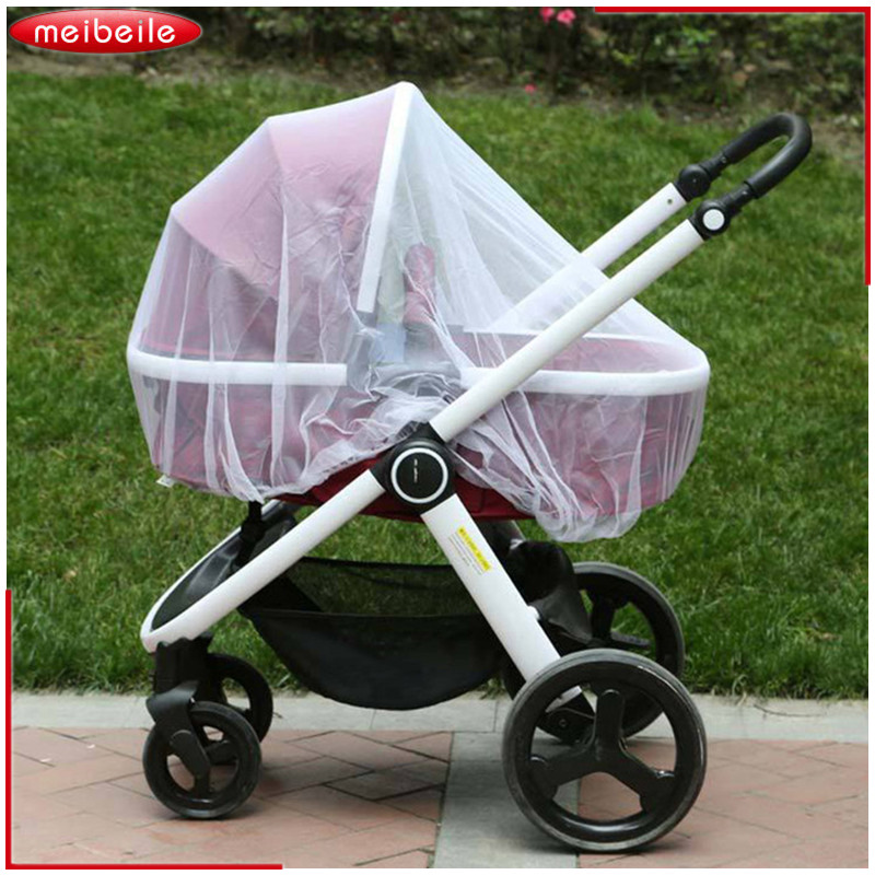 Baby Strollers Mosquito Insect Netting Pushchair Full Cover Face Kids Net Stroller Bumper Bar Yoya Baby