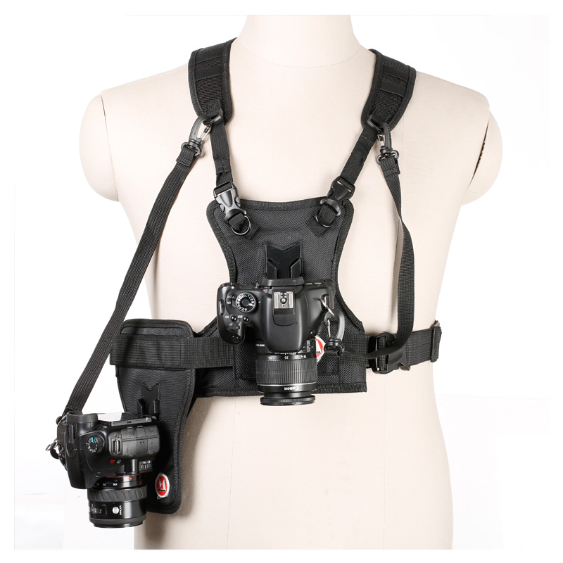 Carrier Ii Multi Dual 2 Camera Carrying Chest Harness
