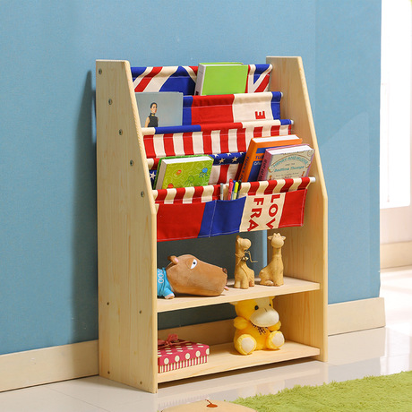 Children Bookcases Living Room Furniture Home Solid Wood Bookcase Bookshelf Hot New 9028