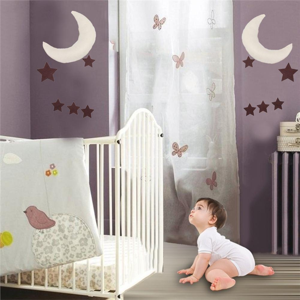 Moon Star Children Kids Room Baby Bed Tent Hanging Toy Home Party Decoration