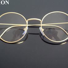 5eaeb38da5 Vintage Wire Metal Oval Full Rim Reading Glasses +50 +75 +100 +125
