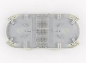 Image 3 - In fibra di giuntura di chiusura 288 core 144 core di Plastica di distribuzione in fibra ottica scatola di giunzione joint chiusura Cupola Spling Chiusura 4 porta