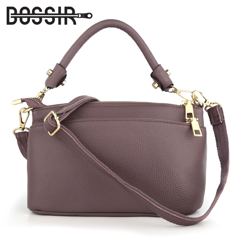 Women Handbags Genuine Leather Small Shoulder Bag Female Fashion Casual Crossbody Messenger Bag Women Tote with 3 Zipper Pocket tassels pu leather pocket tote bag page 3