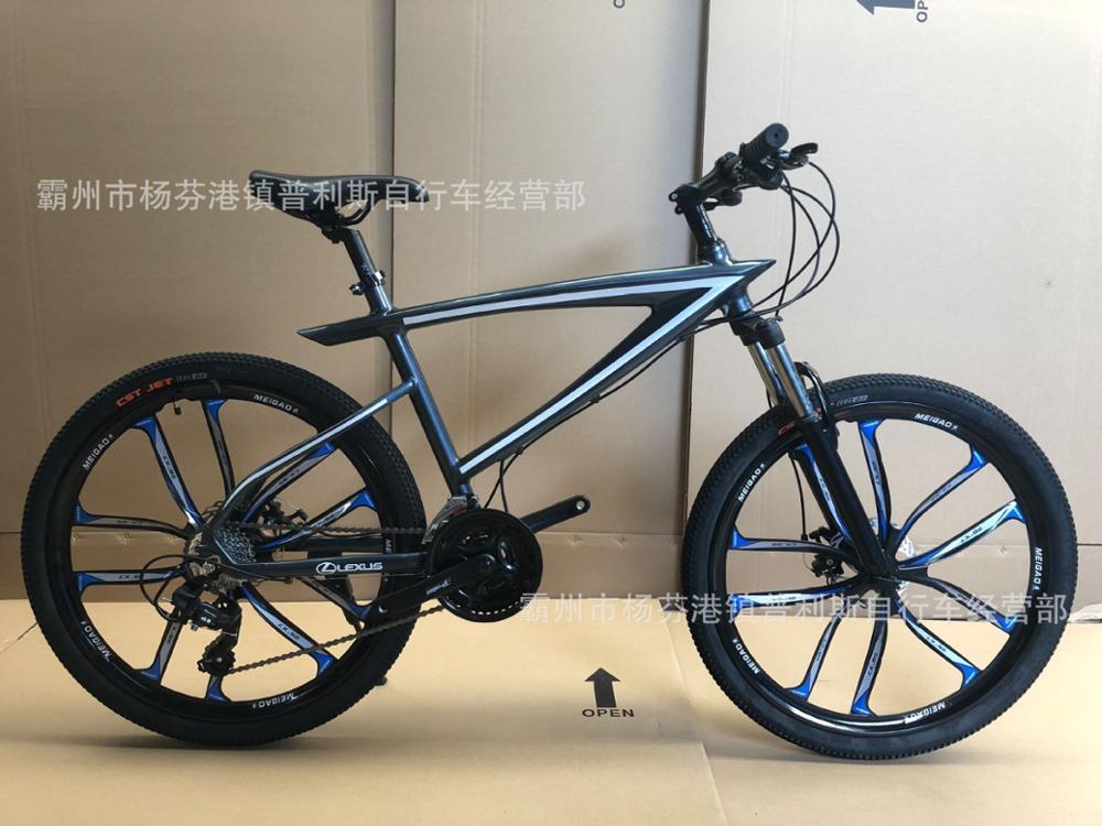 26 Inch 27 Speed Oil Brake Double Disc Brake Bicycle Aluminum  Bike Road Bike Double Mountain Bikes