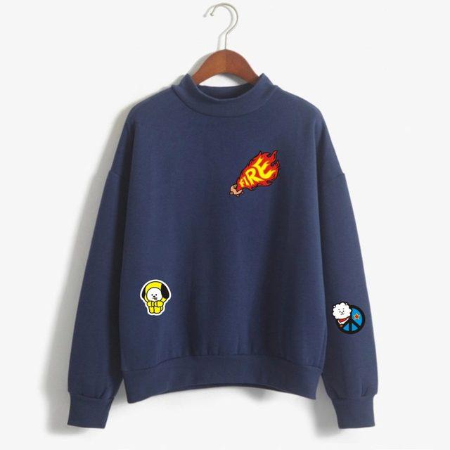 BT21 Crewneck Sweaters (Many Design)