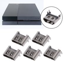 5Pcs Replacement Display HDMI Port Socket Jack Connector For PlayStation PS4 Pro Slim Console