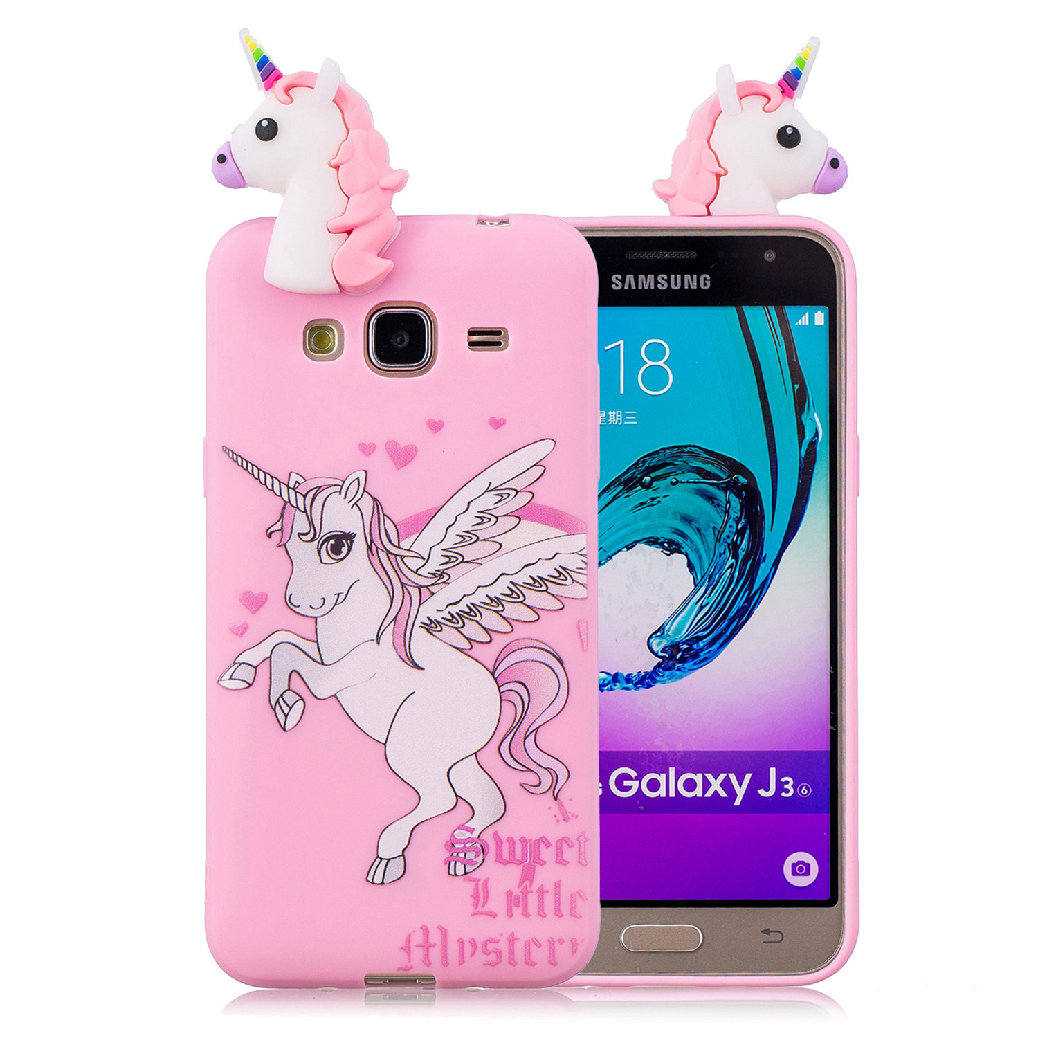 Lovely Cartoon White Squishy Phone Cases for samsung galaxy j3 2016 Case Cute Smiling Cloud Soft Silicone stress relief Cover