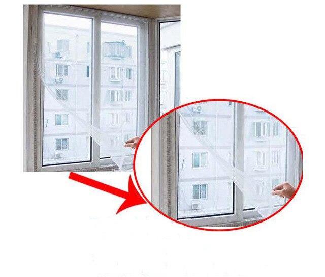 Alta calidad DIY mosquitera cortina mosca bug mosquito puerta ...
