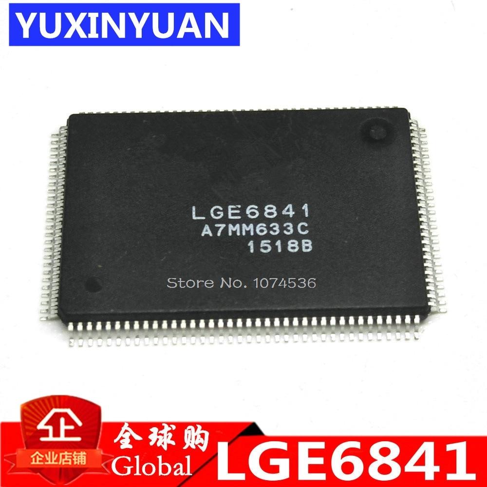 2 pcs/lot LGE6841 E6841 QFP LCD puce nouveau original authentique2 pcs/lot LGE6841 E6841 QFP LCD puce nouveau original authentique