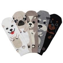 Носки для взрослых; короткие носки для питомцев; короткие носки для щенка добермана; корги; такса; колбаса; собаки; мопса; папильона; милая колли; Хаски; Шнауцер