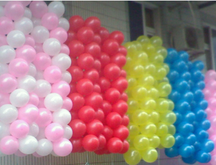HOT SALE 100pcs/lot 10inch 1.2g/pcs Latex Helium Thickening Pearl Wedding Party Birthday Balloon Multicolor or single colors