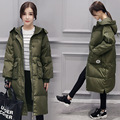 Hot! Thicken Winter Jacket Casual Pregnant Coat Loog Manteau Grossesse Hooded Down Coat Maternity Top Quality Manteau Maternite