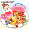 New Arrival 3 years old baby girl play house kitchen playsets Children simulation food cooking kitchen utensils tea