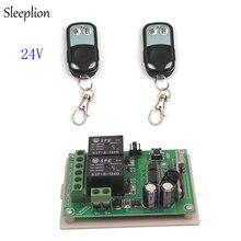 Sleeplion 315 мГц/433 мГц 24 В 2 канала Беспроводной Управление мгновенное переключение на/off передатчик + приемник