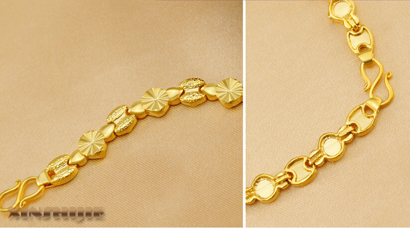 bracelet designs in gold for girls