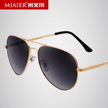 MIAIER Polarized Aviator Sunglasses Men Women Toad Glasses Cool Mirror Sunglasses Men Luxury Brand Rose Gold Sunglasses