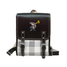 Alice in Wonderland Casual Vintage Backpack Mini British Sty