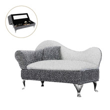 Factory Direct Sale  Large Home Furnishing Articles Palace Princess Series Cloth Sofa Jewelry Boxes Bedroon Decoration